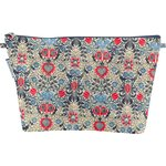 Cosmetic bag with flap azulejos - PPMC