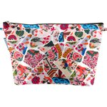 Cosmetic bag with flap barcelona - PPMC
