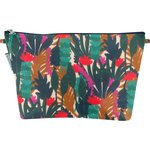 Cosmetic bag with flap canopée - PPMC
