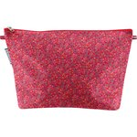 Cosmetic bag with flap currant crocus - PPMC