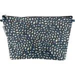 Bolsa de baño con lengüeta piezas azul noche - PPMC