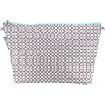 Cosmetic bag with flap neon shards - PPMC