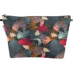 Cosmetic bag with flap fireworks - PPMC