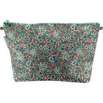Cosmetic bag with flap flower mentholated - PPMC