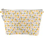 Cosmetic bag with flap pastel drops - PPMC