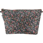 Cosmetic bag with flap grasses - PPMC