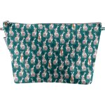 Cosmetic bag with flap bunny - PPMC