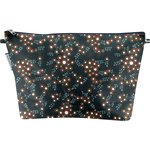 Cosmetic bag with flap fireflies - PPMC