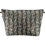 Cosmetic bag with flap mosaïka - PPMC