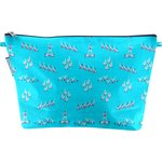 Cosmetic bag with flap swimmers - PPMC