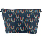 Cosmetic bag with flap poules en ciel - PPMC
