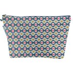 Cosmetic bag with flap ethnic sun - PPMC
