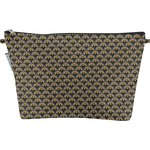 Cosmetic bag with flap inca sun - PPMC