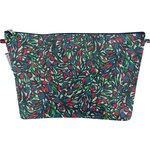 Cosmetic bag with flap  tulipes - PPMC