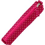 Mini pencil case fuchsia gold star - PPMC
