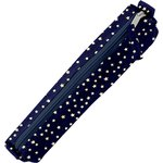 Mini pencil case navy gold star - PPMC