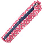 Mini pencil case small flowers pink blusher - PPMC