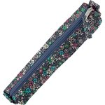 Mini pencil case green azure flower - PPMC