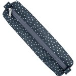 Round pencil case silver star jeans - PPMC