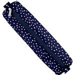 Round pencil case etoile or marine  - PPMC