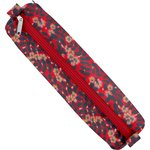 Round pencil case vermilion foliage - PPMC