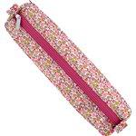Round pencil case pink jasmine - PPMC