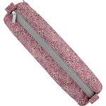 Round pencil case plum lichen - PPMC