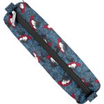 Round pencil case flowered night - PPMC