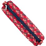 Round pencil case paprika petal - PPMC