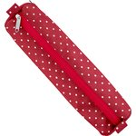 Round pencil case red spots - PPMC