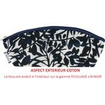 Pencil case chinese ink foliage  - PPMC