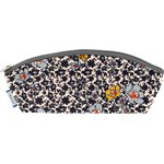 Pencil case ochre flower - PPMC