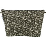 Cosmetic bag with flap foliage - PPMC