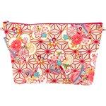 Trousse de toilette  origamis fleuris - PPMC