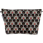 Cosmetic bag with flap pop bear - PPMC
