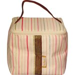 Small vanity silver pink striped - PPMC
