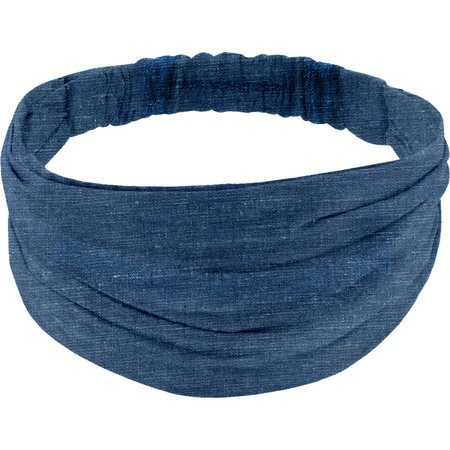 Headscarf headband- Adult size light denim