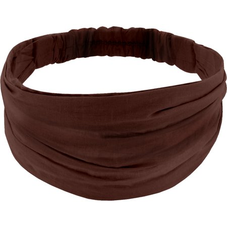 Headscarf headband- Adult size brown