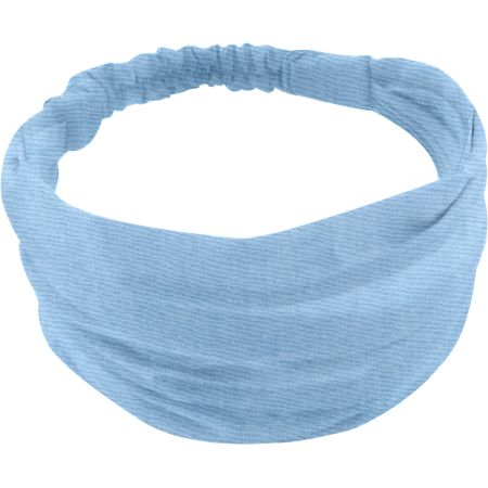 Headscarf headband- Baby size oxford blue