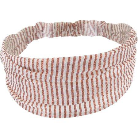 Headscarf headband- Baby size copper stripe