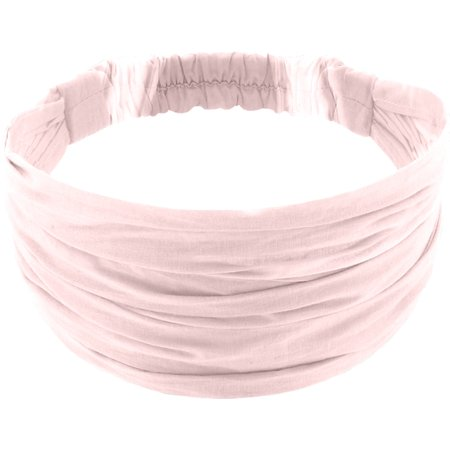 Headscarf headband- child size light pink