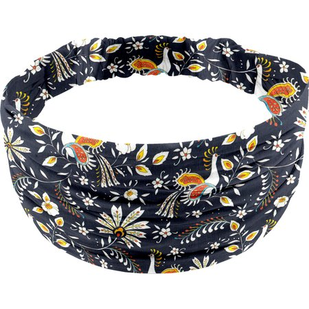 Headscarf headband- child size lyrebird