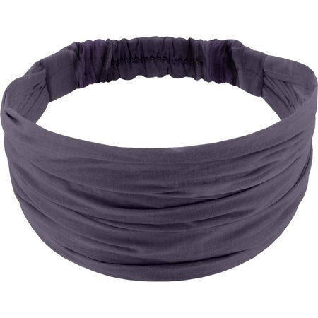 Headscarf headband- child size plum