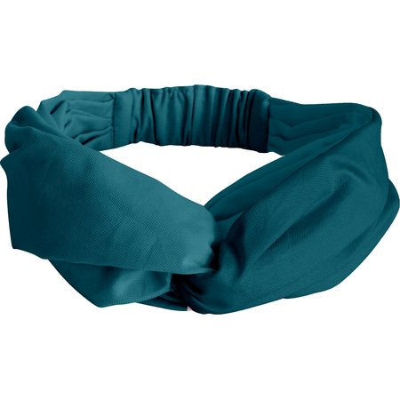 Bandeau croisé bleu vert