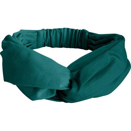 Bandeau croisé  vert émeraude
