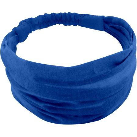 Headscarf headband- Baby size navy blue