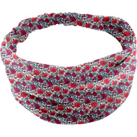 Headscarf headband- Baby size poppy