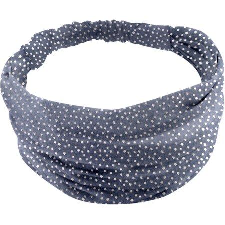 Headscarf headband- Baby size etoile argent jean