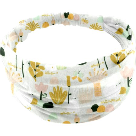 Headscarf headband- Baby size water green rabbit