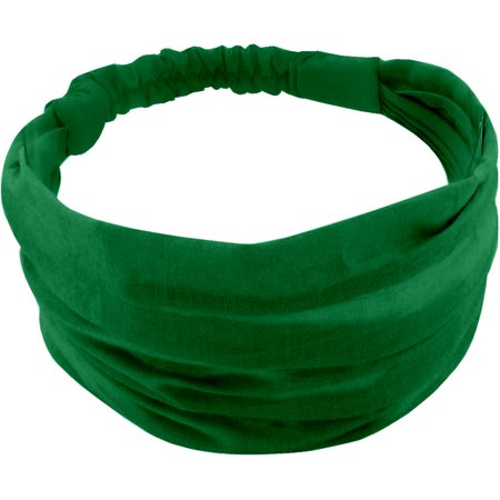 Headscarf headband- Baby size bright green
